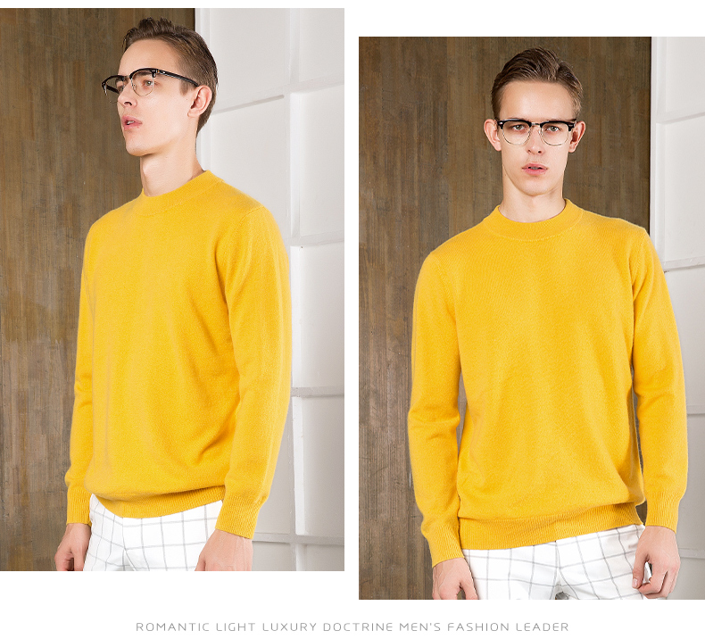 Áo len lông cừu nam Pierre Cardin 2017 180XL70 80KG YR006 - ảnh 13