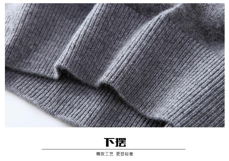 Áo len lông cừu nam Pierre Cardin T2017 180XL70 80KG XHDX-1 - ảnh 17