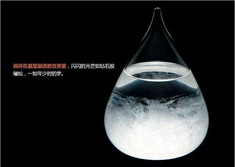 创意天气预报瓶 水滴风暴瓶 靠谱的预报瓶 q6507图片