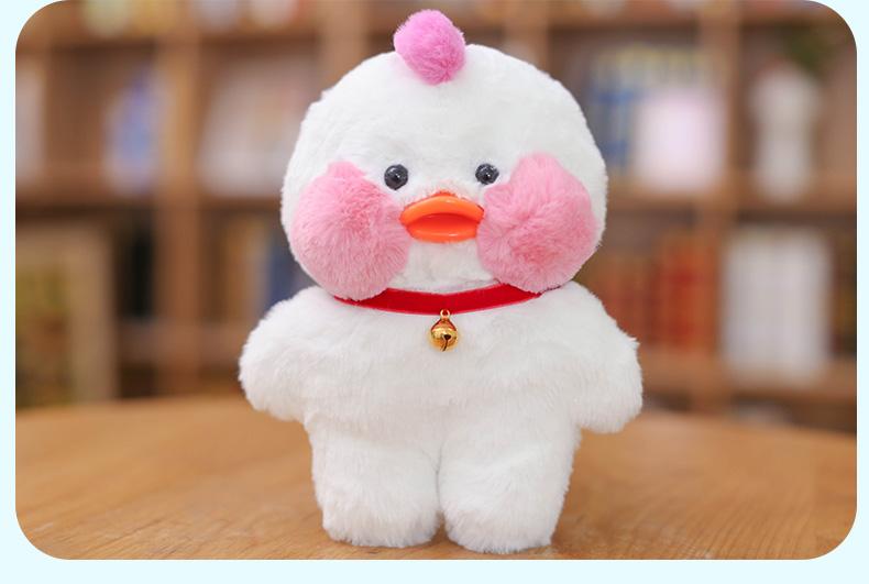 玩偶生日小黄鸭毛绒玩具玩具女仆工厂款25厘米_6折礼物宝石熊ins一劳力娃娃用于v玩偶的全部现价图片