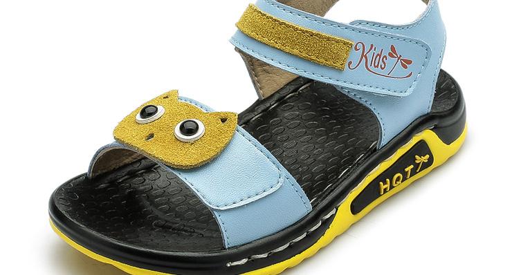 红蜻蜓正品童鞋2015夏季新款儿童凉鞋