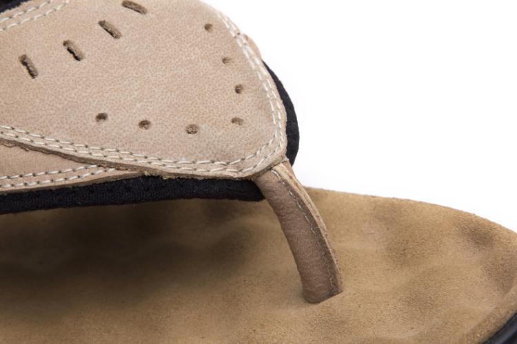 【618特价男鞋】jeep吉普男鞋休闲鞋特价男凉鞋真皮