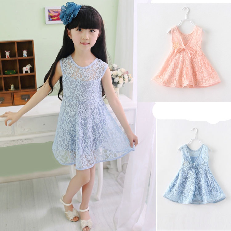 夏季新款 女童裙子