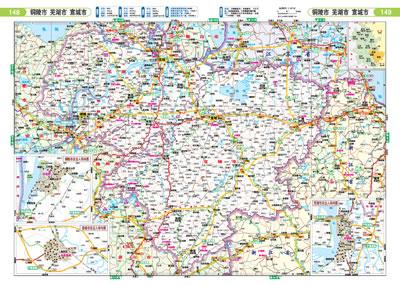 上海 江苏 浙江 安徽自驾游地图集图片
