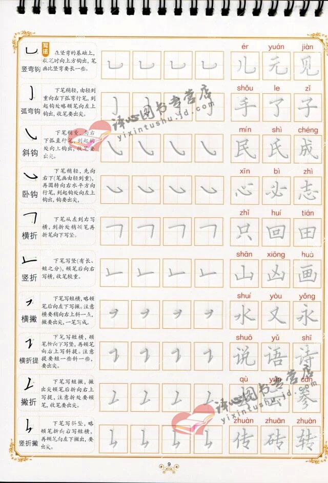汉字的基本笔画