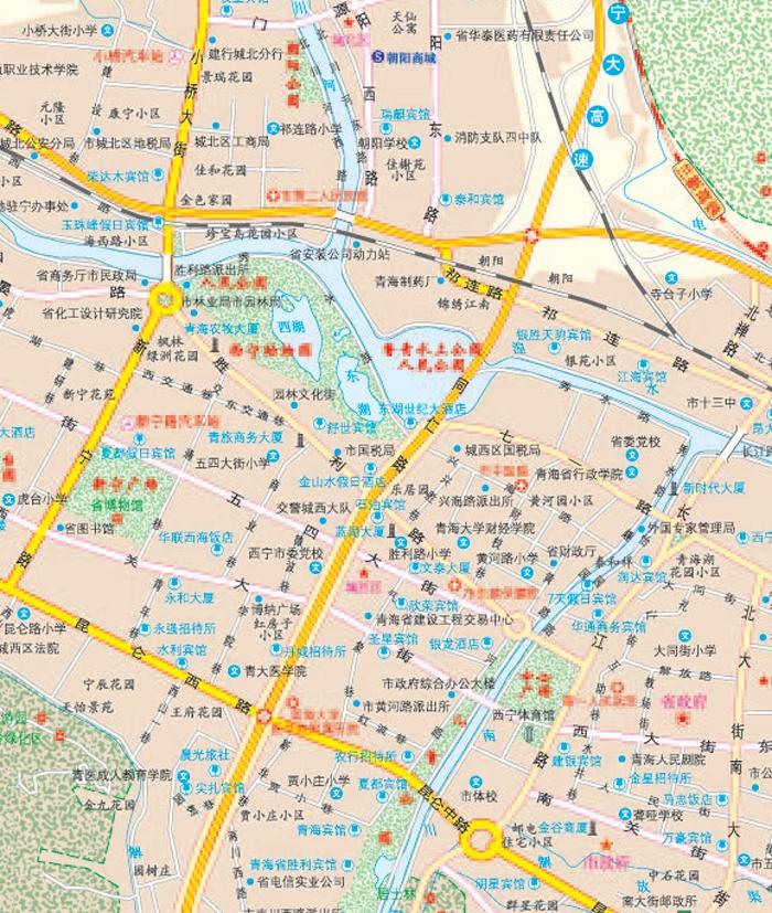 旅游/地图 导游必备 2015中国公路里程地图分册系列:甘肃 青海 宁夏