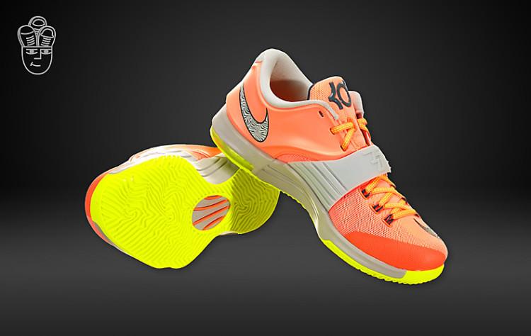 耐克 Nike KD 7 杜兰特7代全新战靴 男子低帮篮