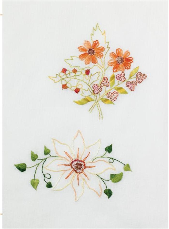 欧式刺绣入门:花朵 9787534961083 河南科学技术出版社
