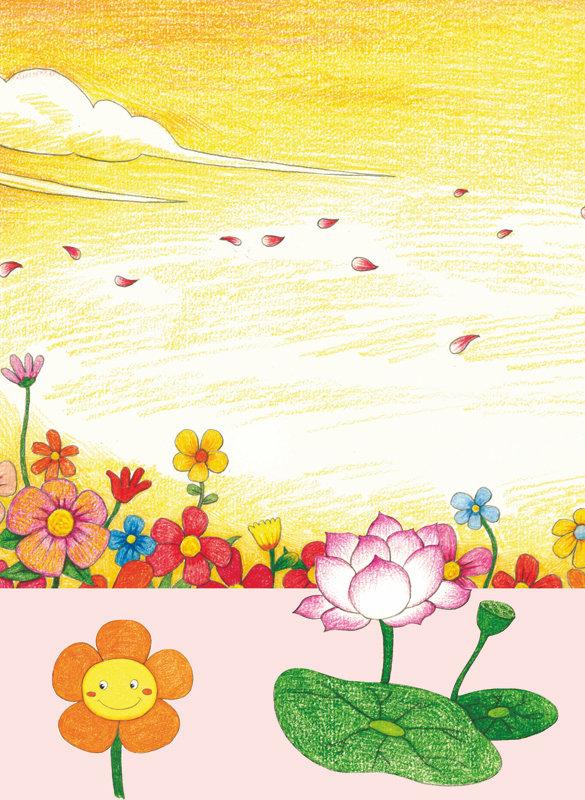 涂涂猫的彩色铅笔简笔画:大自然藏宝图 涂涂猫