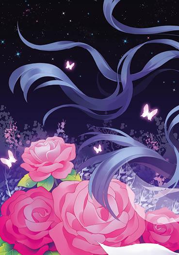 漫画作品有《诅咒之蝶》《天舞琴仙》《净界之歌》《暗巷之屋》等图片