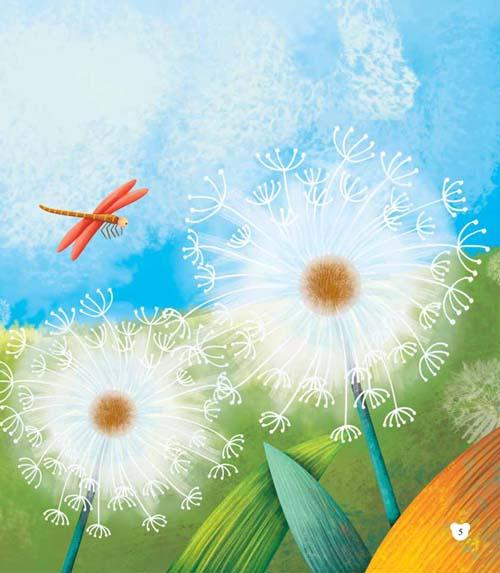 金娃娃成长励志绘本 勇敢的蒲公英 9787540131340图片