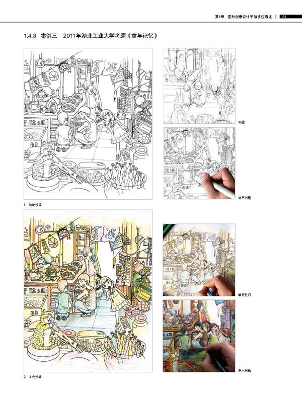 图形创意设计手绘技法