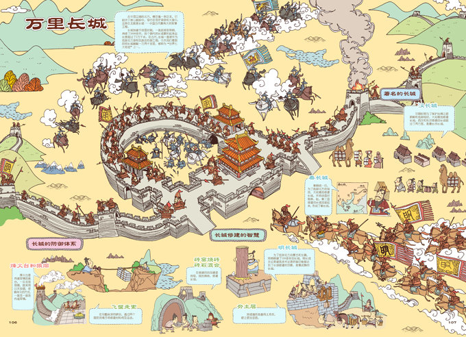 中国历史地图——手绘中国 人文版