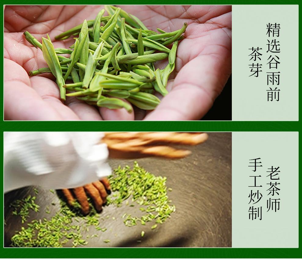 2018新茶日照绿茶春茶买1送1共500克 一杯香茶叶绿茶雨前春茶散装礼盒浓香茶叶【京东】