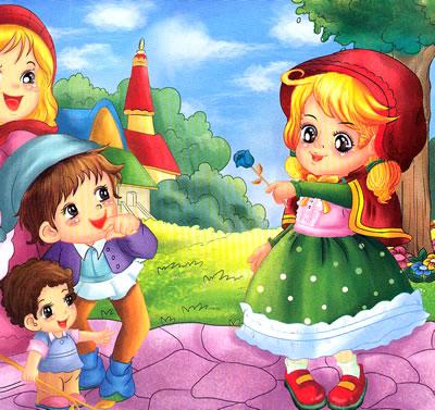 (满48元包邮)宝宝喜爱的认读童话---小红帽 9787536552685 四川锐格图片