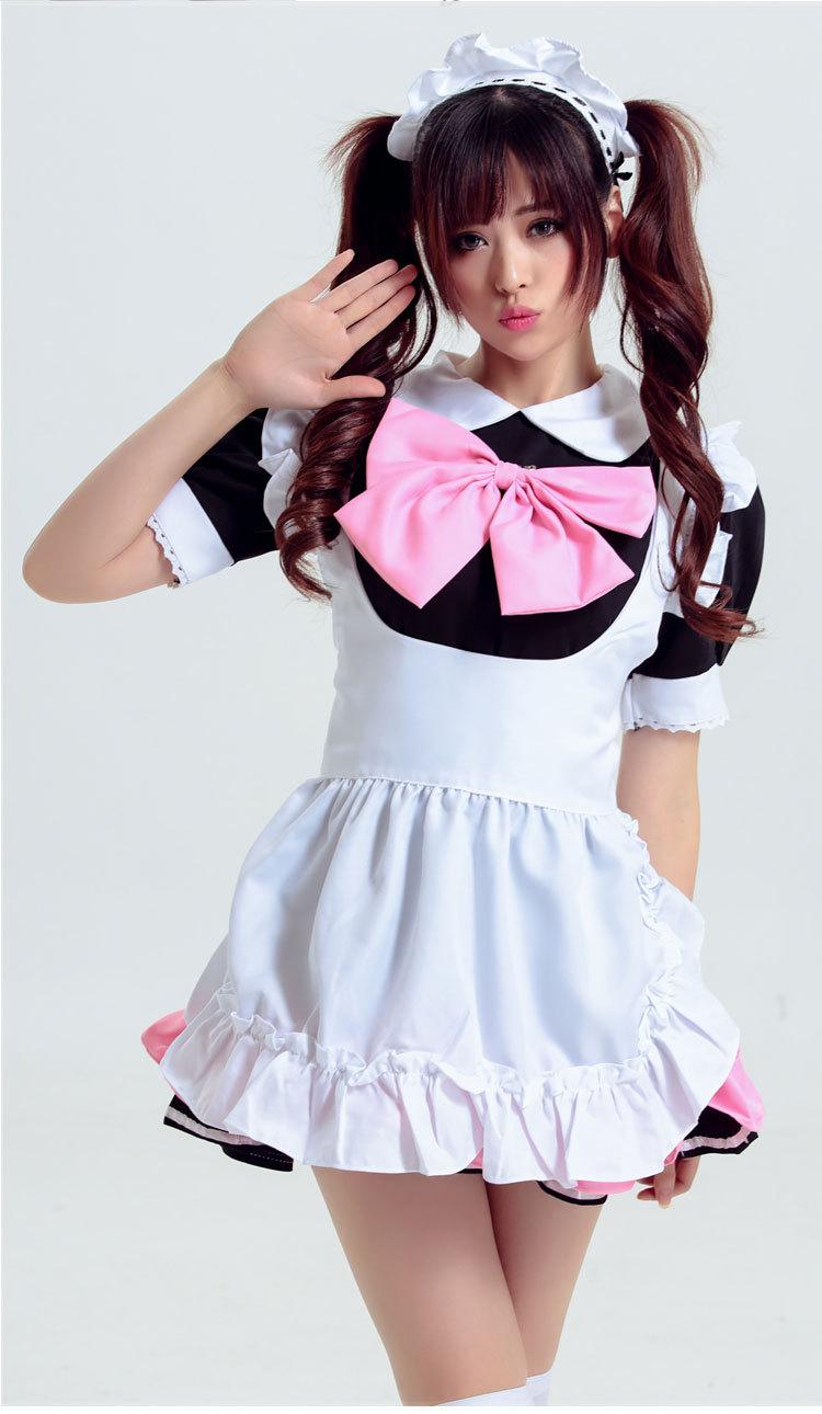 女仆装cosplay多彩 女佣餐厅咖啡厅服务员女仆服漫展动漫演出 h款