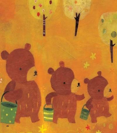 我的第一本数学童话:三只小熊(大小长短) (韩)金世实,(日)森内美久绘
