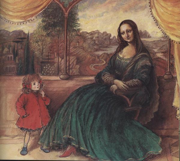 凯蒂和蒙娜丽莎 梅修 少儿 书籍图片