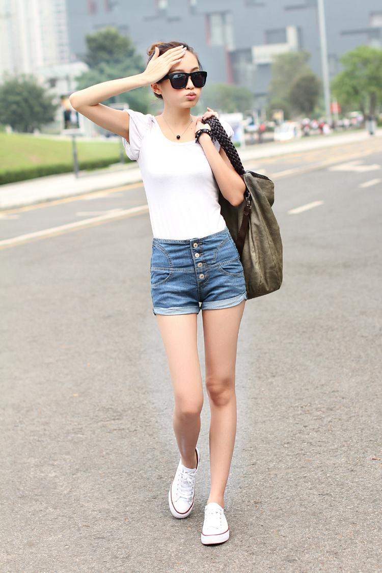 学生短裤女休闲
