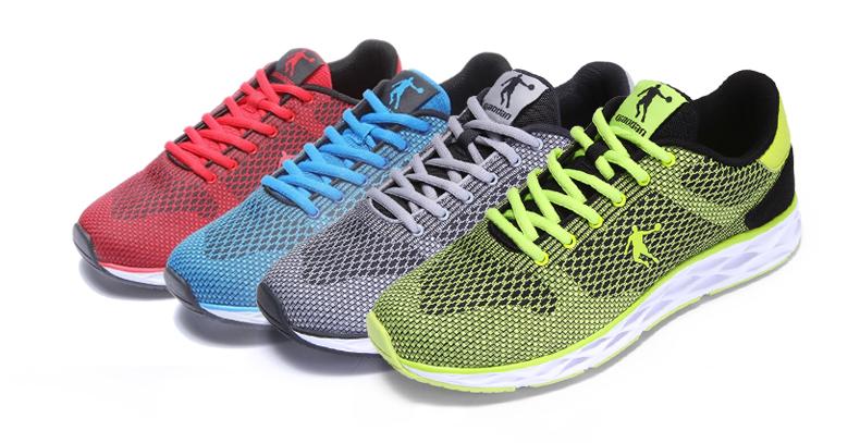 乔丹跑步鞋男鞋春夏季2016新款减震耐磨网面透气运动鞋子 琉璃蓝/黑色