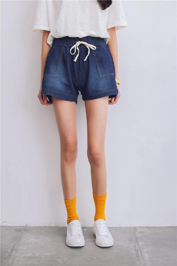 休闲宽松短裤女夏