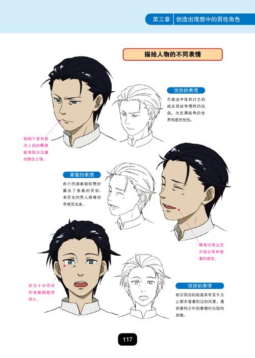 动漫人物设定宝典:男性角色篇