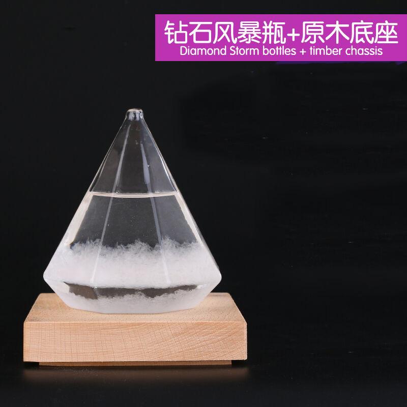 创意摆件 天气预报瓶 地球仪气象瓶风暴瓶 送女友生日图片