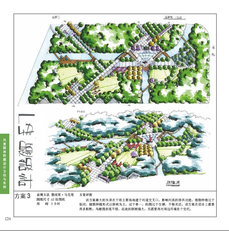风景园林快题设计方法与实例