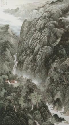第二届娄东(太仓)全国中国画(山水画)作品展作品集图片
