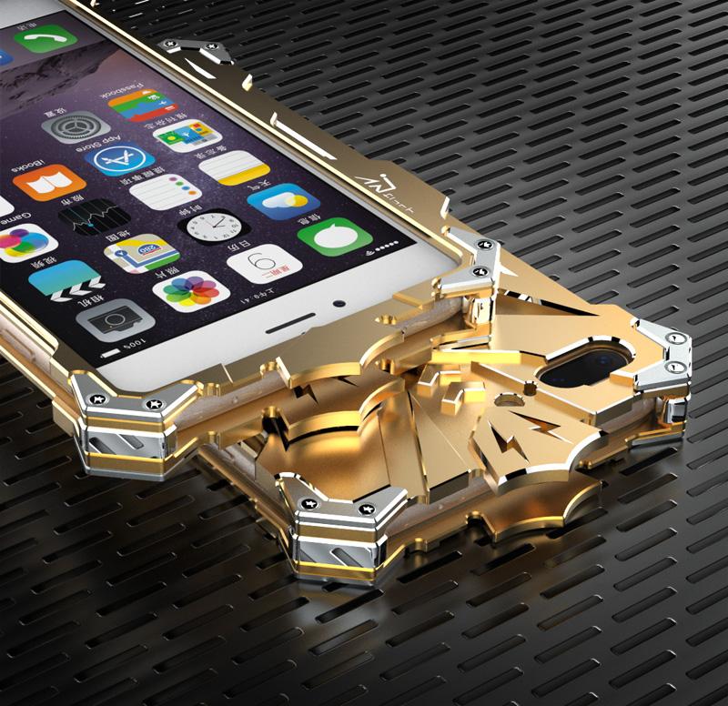 iphone 7 case gold metal