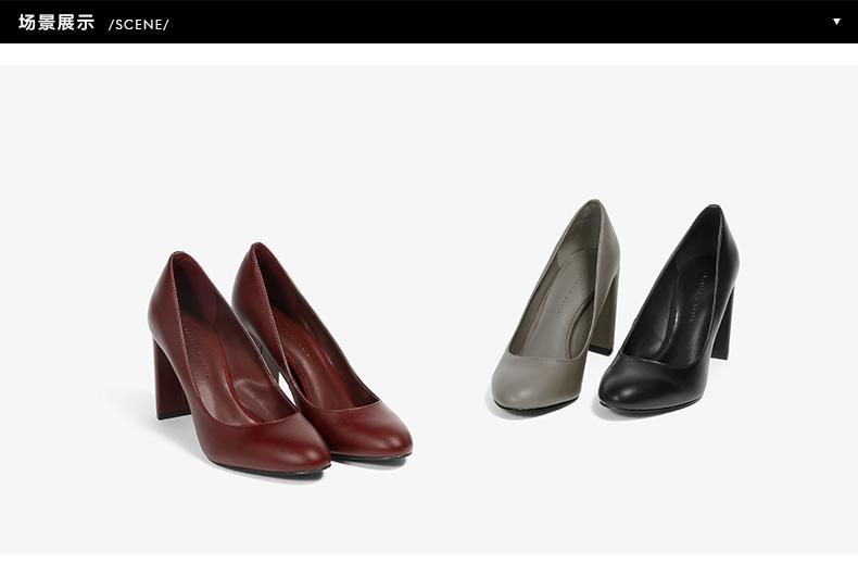 Giày nữ Charles & Keith CHARLESKEITHCK1 60360922 36 CK1-60360922 - ảnh 1