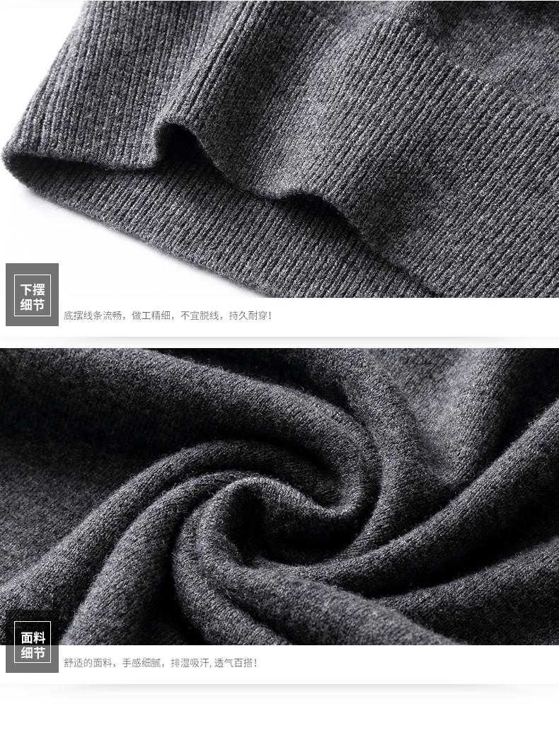 Áo len lông cừu nam Pierre Cardin 1002017V 170 PEKDBB-7518 - ảnh 19