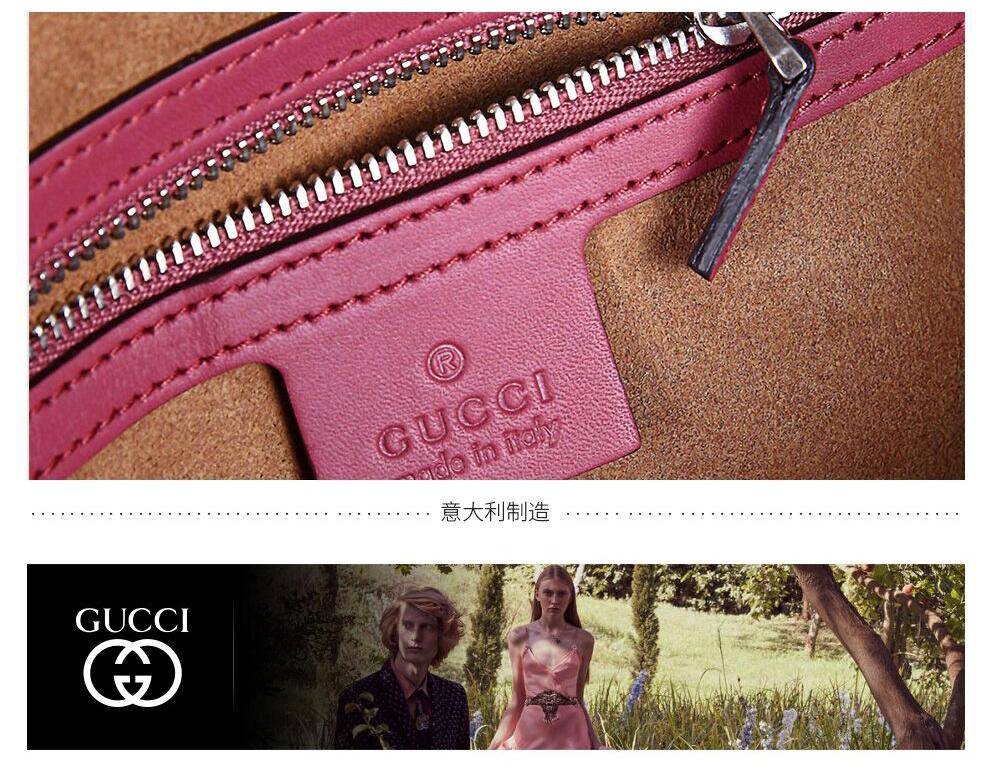 Túi xách nữ GUCCI409529 KU2IN 8693 - ảnh 9