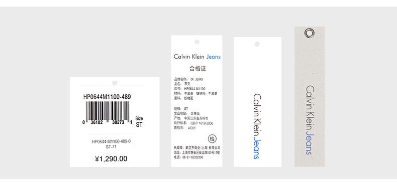 Ví nam Calvin Klein JeansCK HP0644 489 - ảnh 9