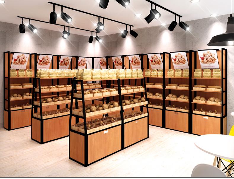 面包架效果图展示