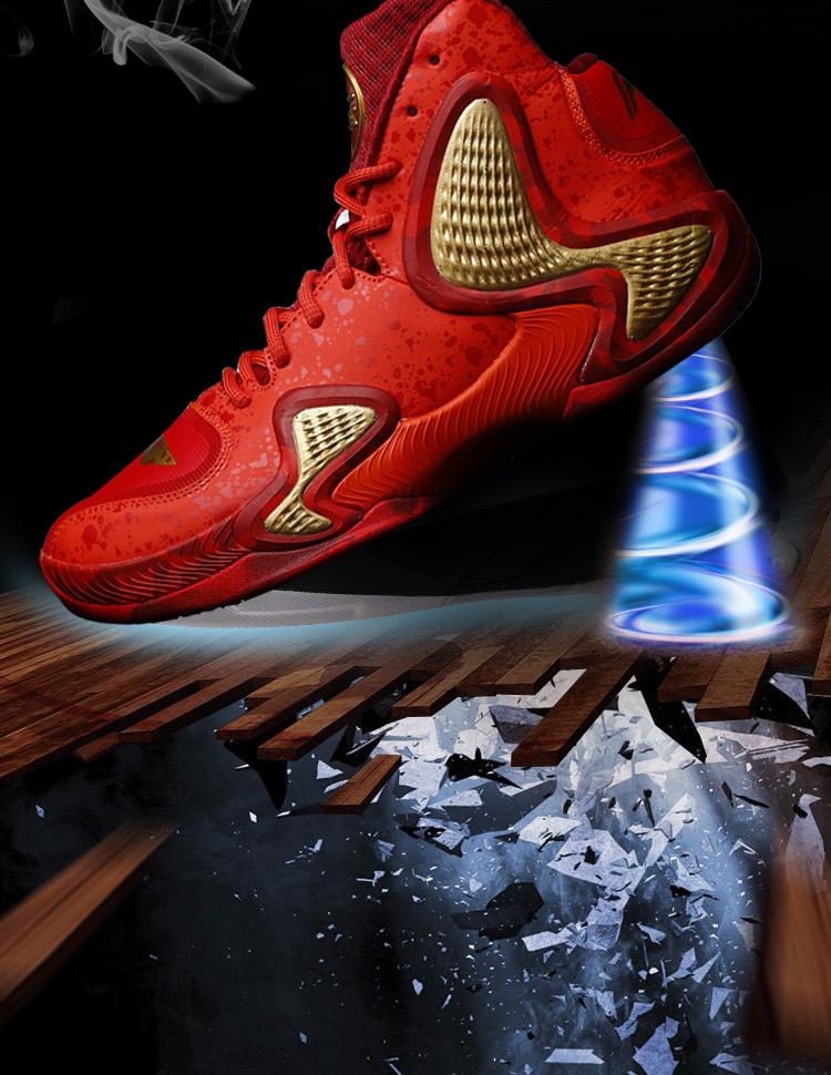 Giày bóng rổ nam Lining CBAABAL001 4 42 - ảnh 4