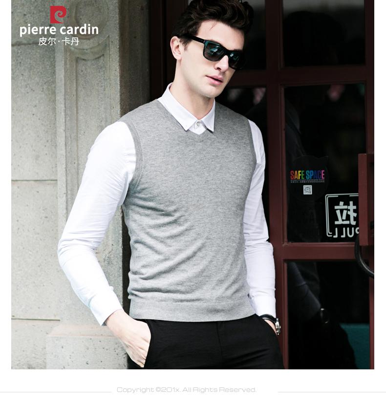 Áo len lông cừu nam Pierre Cardin 1002017V 170 PEKDBB-7518 - ảnh 12