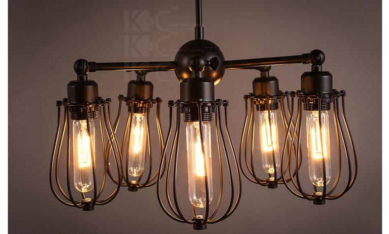 Đèn trùm  kcLOFT 2W KC-D1302-5 1434325982 - ảnh 8