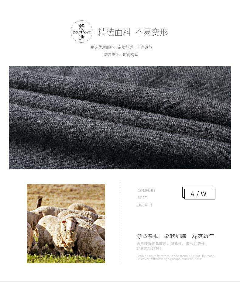Áo len lông cừu nam Pierre Cardin 1002017V 170 PEKDBB-7518 - ảnh 2