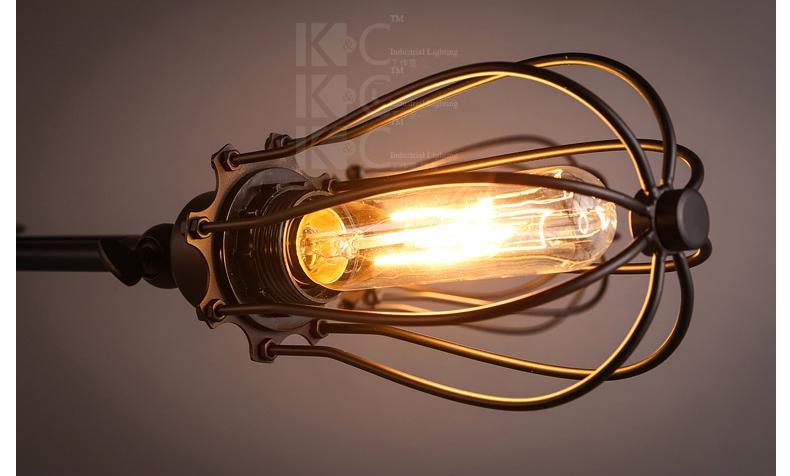 Đèn trùm  kcLOFT 2W KC-D1302-5 1434325982 - ảnh 15