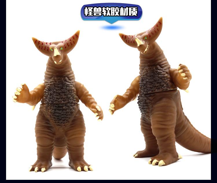 馨韵奥特曼怪兽玩具软胶银河哥莫拉迪迦赛罗维克特利艾雷王雷德王
