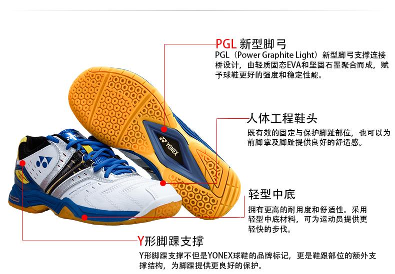 Giày cầu lông nữ YONEX SHB 49C 36 SHB-37C - ảnh 9