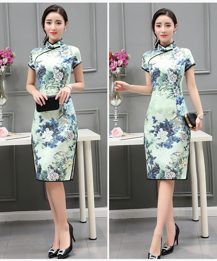 时尚中国风 优雅旗袍裙 - 花雕美图苑 - 花雕美图苑