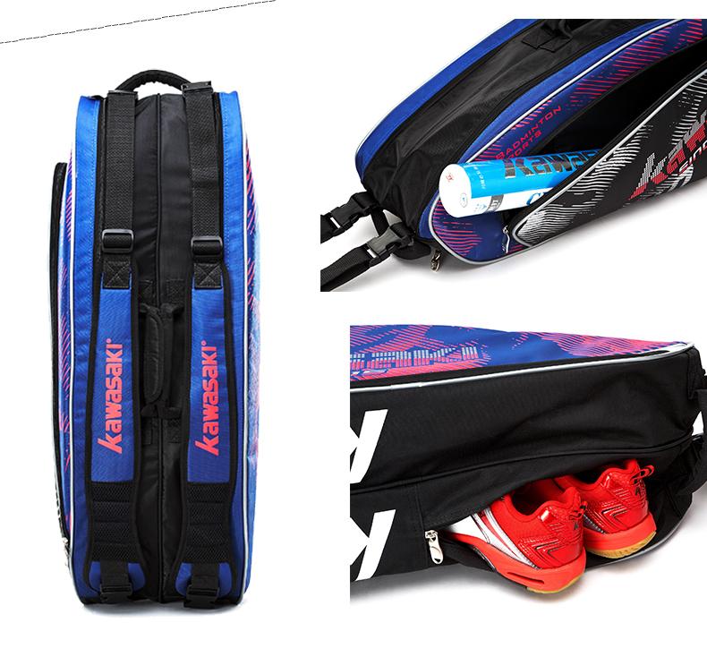 Túi đựng vợt cầu lông KAWASAKI6 KBB 8632 kawasaki17078600P - ảnh 12