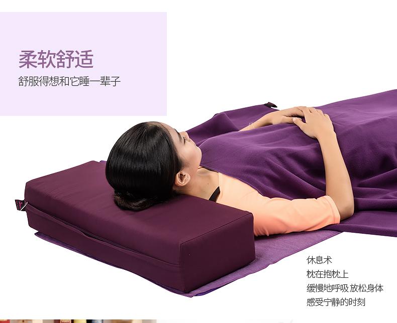 迪玛森(dmasun) 迪玛森瑜伽抱枕方形瑜珈枕 孕妇瑜伽枕 加大瑜珈枕头