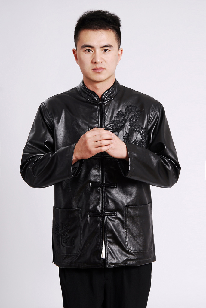 Shanghai, optimization options Tang Dynasty Men long-sleeved sweater Tang blouses men's leather jacket water Sable Hair Tang dynasty leather garments plus black聽XL pictures, lint-free price, brand platters! The elections are supplied in the national character of distribution, so action, buy now enjoy more preferential! As soon as possible.