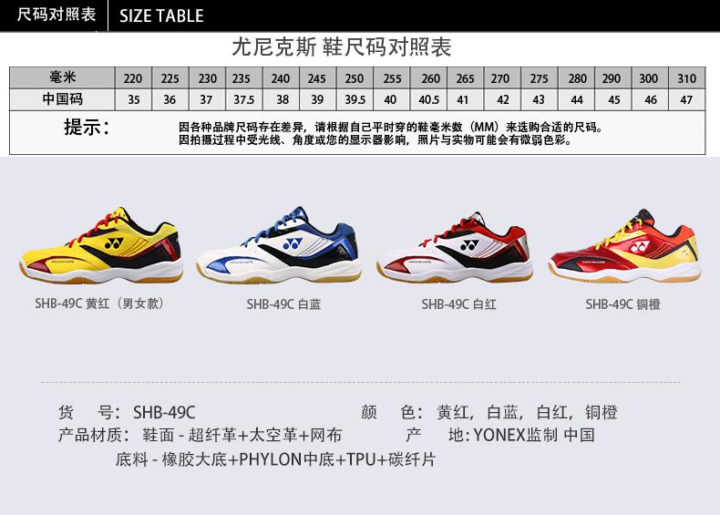Giày cầu lông nữ YONEX SHB 49C 36 SHB-37C - ảnh 5