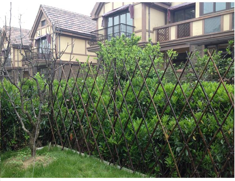 纳格兰 户外竹子篱笆竹栅栏庭院围栏护栏花园隔断装饰
