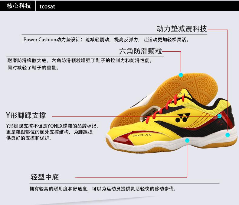 Giày cầu lông nữ YONEX SHB 49C 36 SHB-37C - ảnh 6
