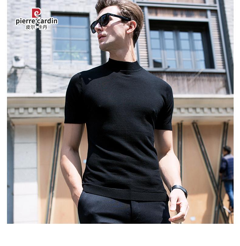 Áo phông không cổ nam Pierre Cardin 100 180 BB7827 - ảnh 16